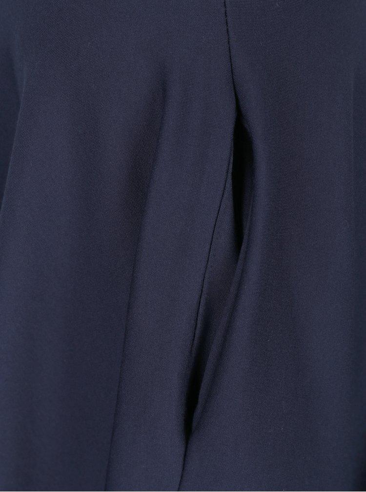 Tmavě modrá kolová sukně s kapsami ZOOT