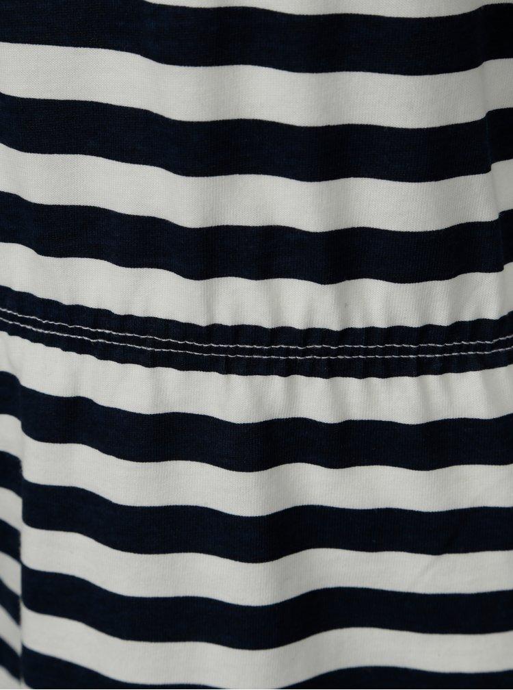 Bílo-modré pruhované šaty name it Vigga