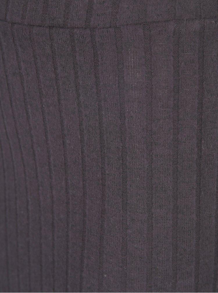 Tmavě šedá pouzdrová sukně ONLY Ida