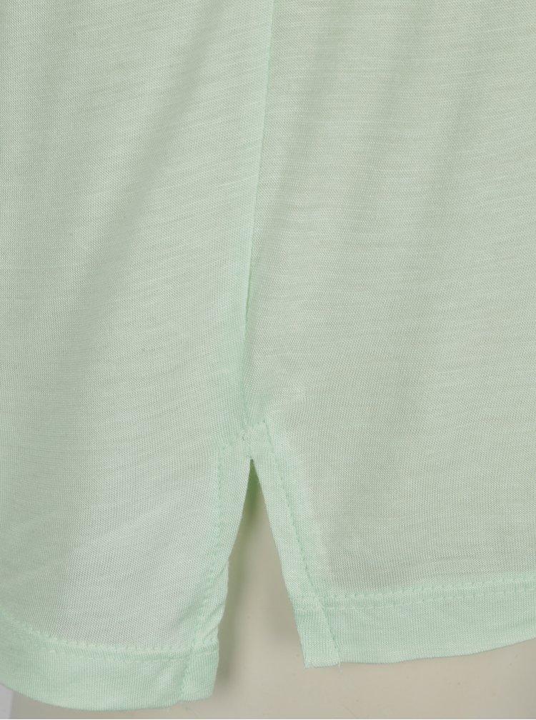 Světle zelené tričko s potiskem Blendshe Mandy