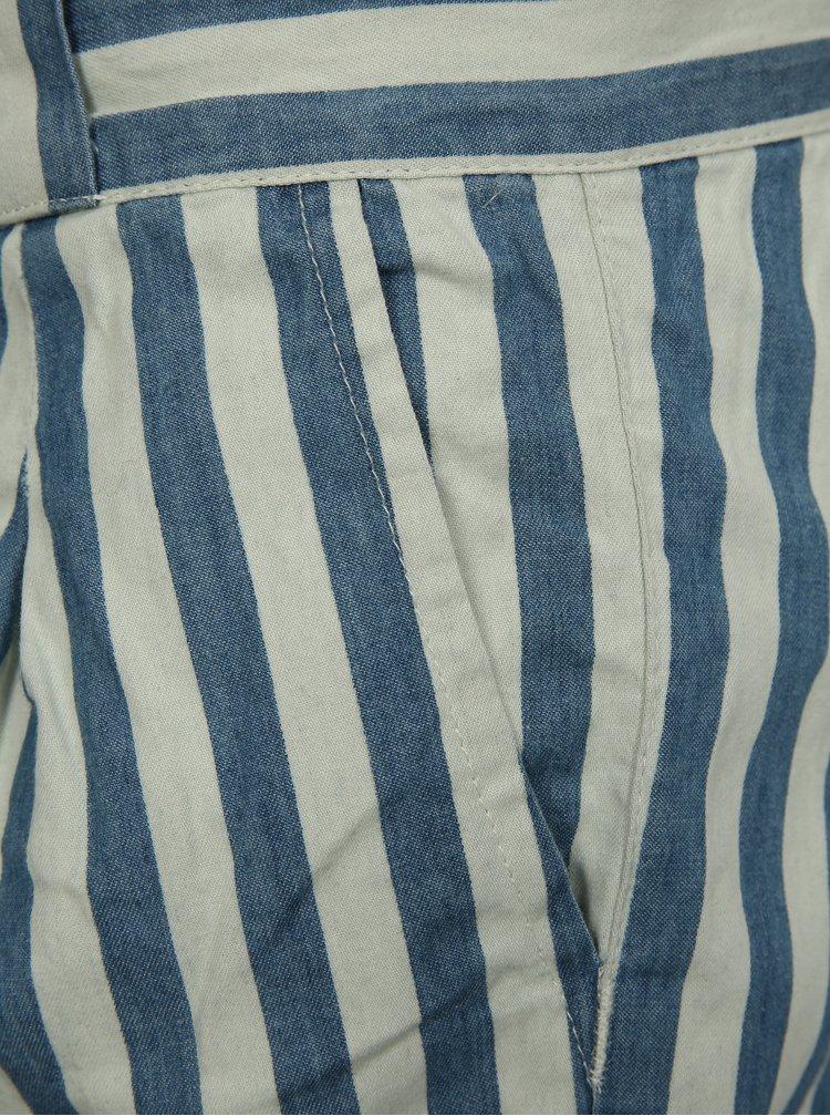 Krémovo-modré holčičí kraťasy name it Frandi