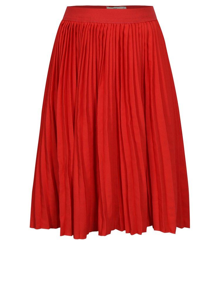 Červená holčičí plisovaná sukně name it Kiss