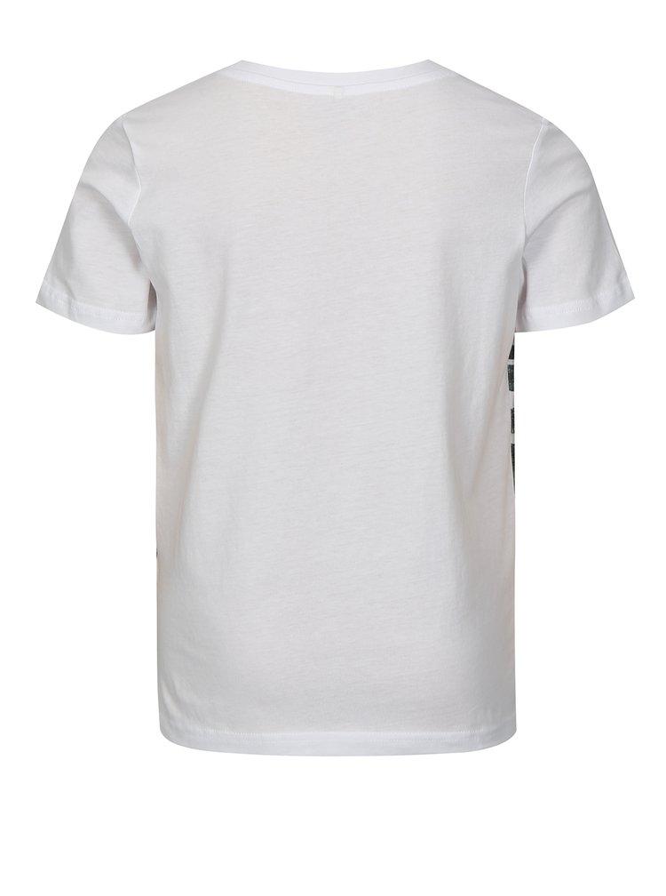 Bílé klučičí tričko s potiskem LIMITED by name it Noam