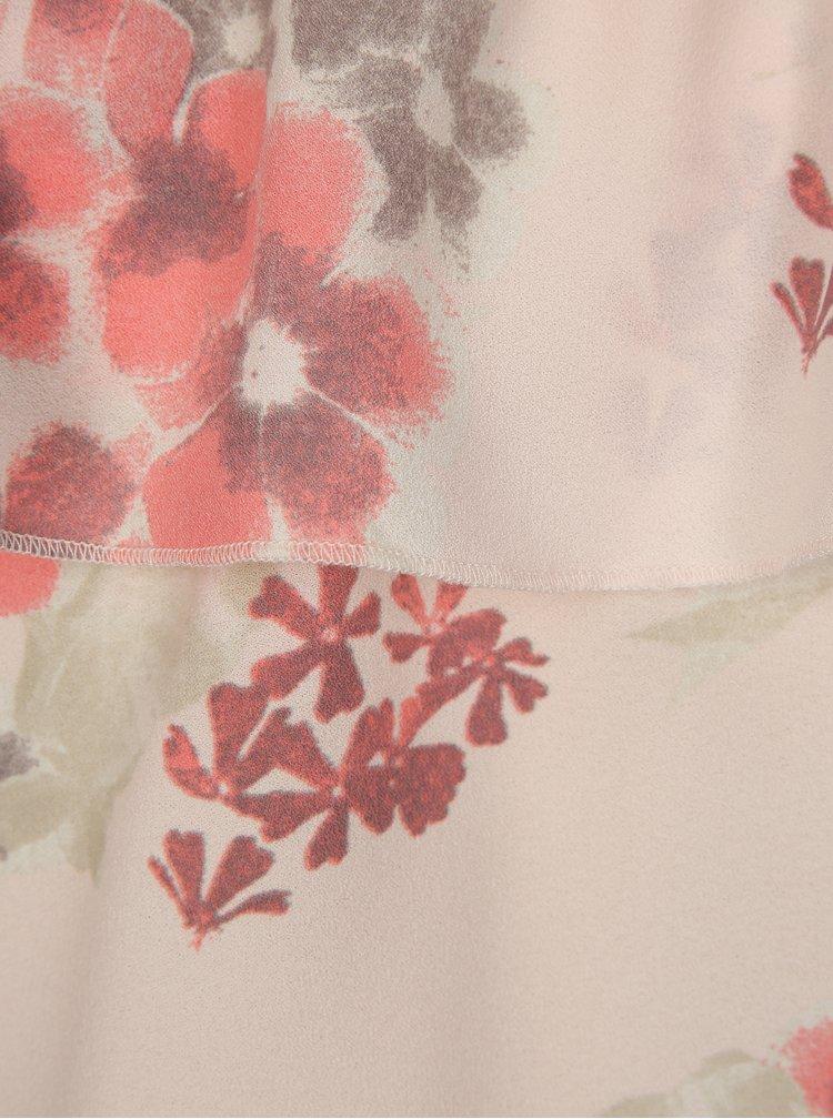 Růžová květovaná holčičí halenka LIMITED by name it Sanja