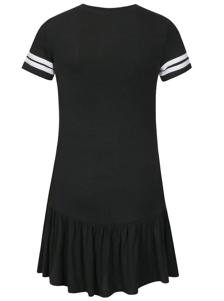 Čierne šaty s krátkym rukávom LIMITED by name it Sonja