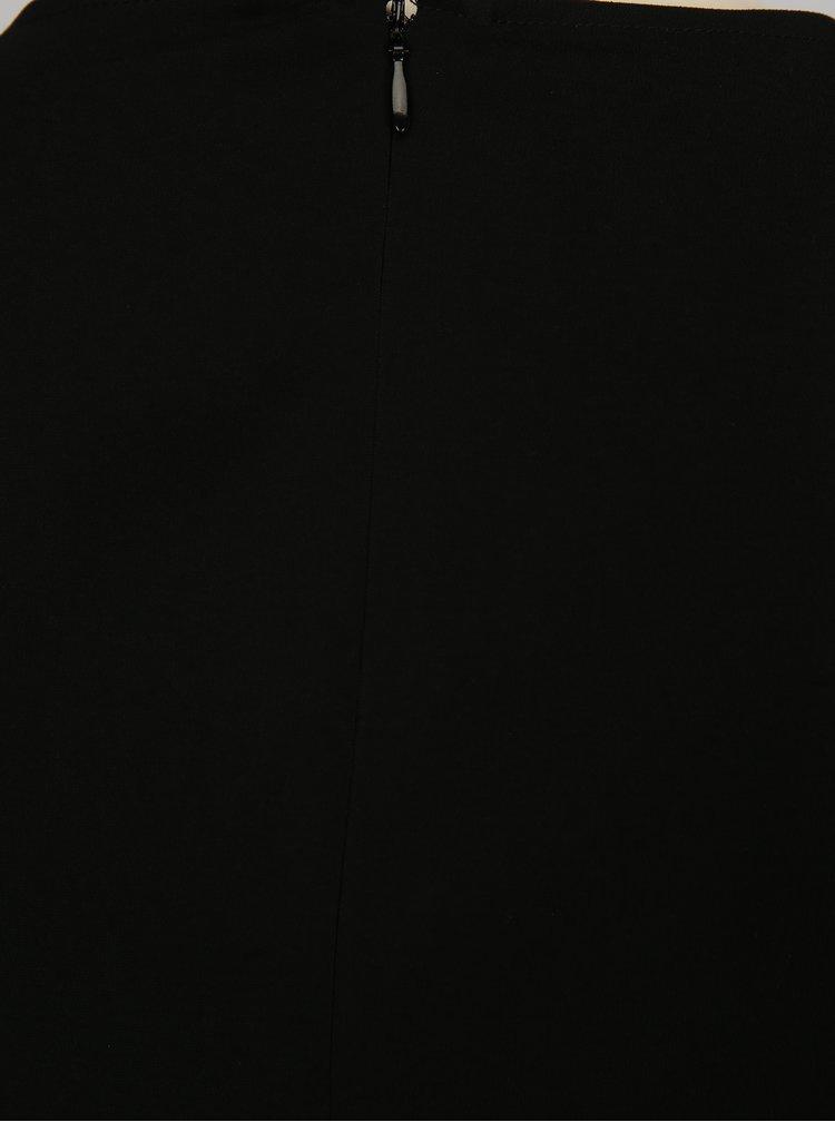Černý krátký overal s kapsami VILA Melis