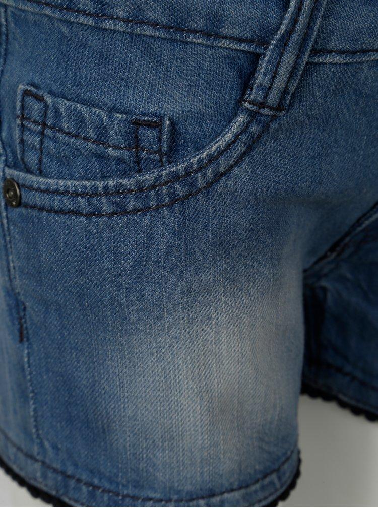 Modré holčičí džínové kraťasy Blue Seven