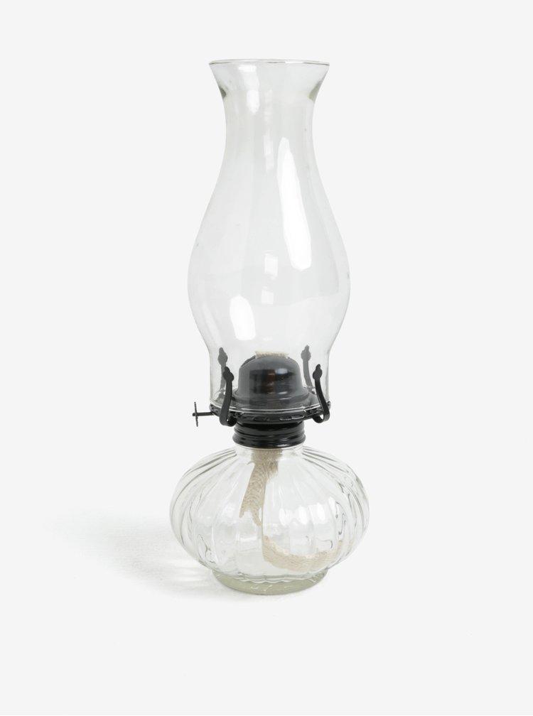 Transparentní petrolejová lampa Dakls