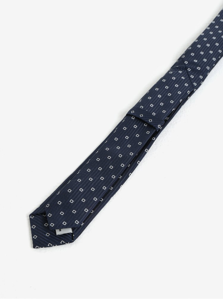 Tmavě modrá klučičí vzorovaná kravata name it Mixi