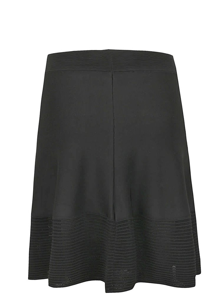 Černá sukně KARL LAGERFELD
