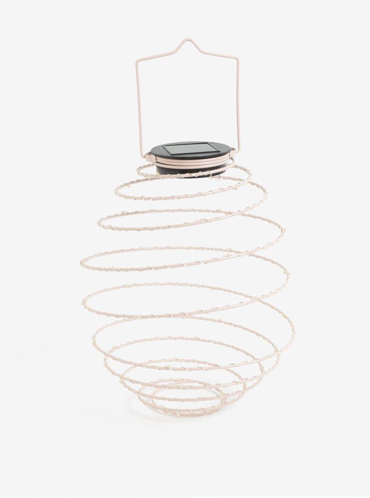 Lampa LED roz pal cu incarcare solara - Kaemingk