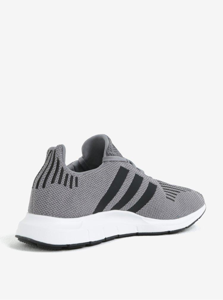Šedé pánské tenisky adidas Originals Swift run
