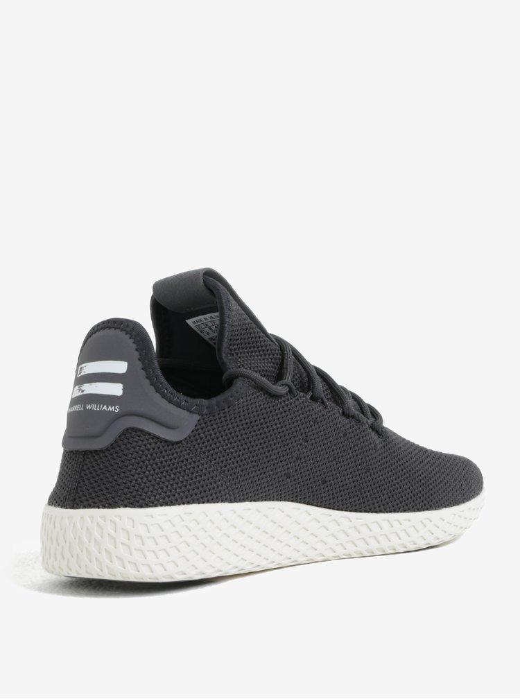 Tmavě šedé pánské tenisky adidas Originals Tennis hu
