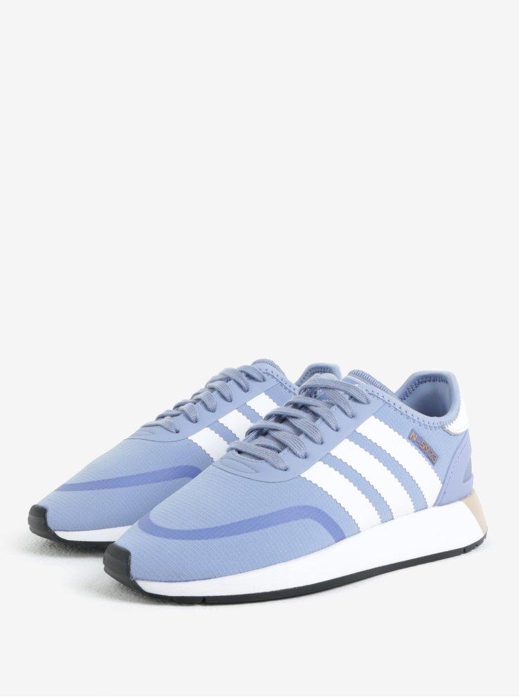 Modré dámské tenisky adidas Originals Iniki