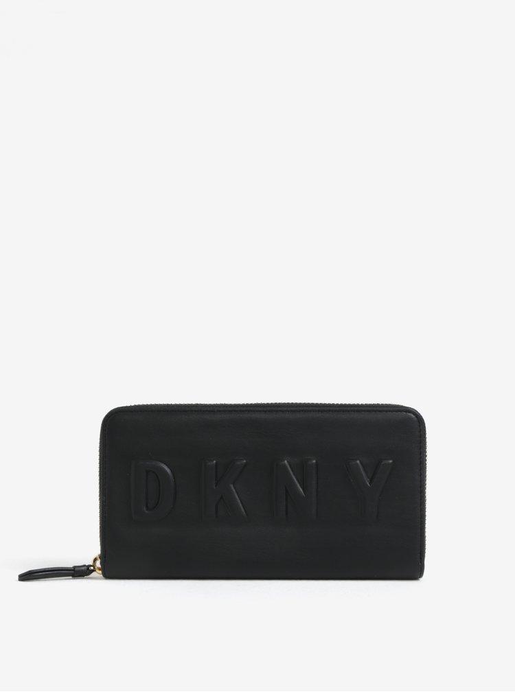 Černá velká peněženka DKNY Around
