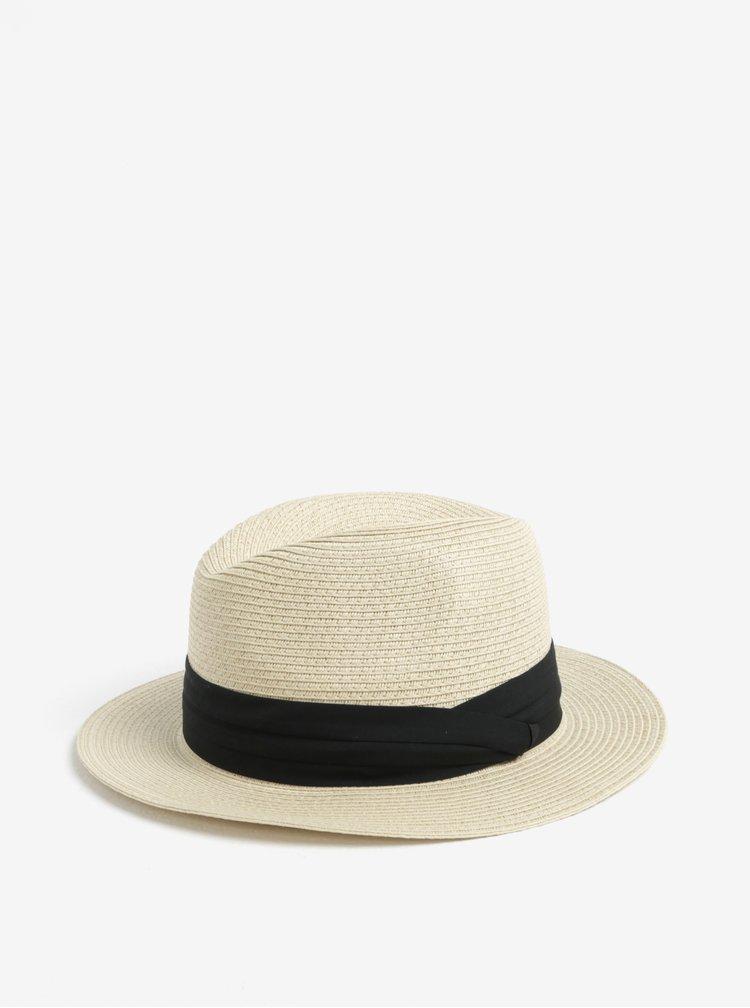 Béžový klobouk Pieces Ida