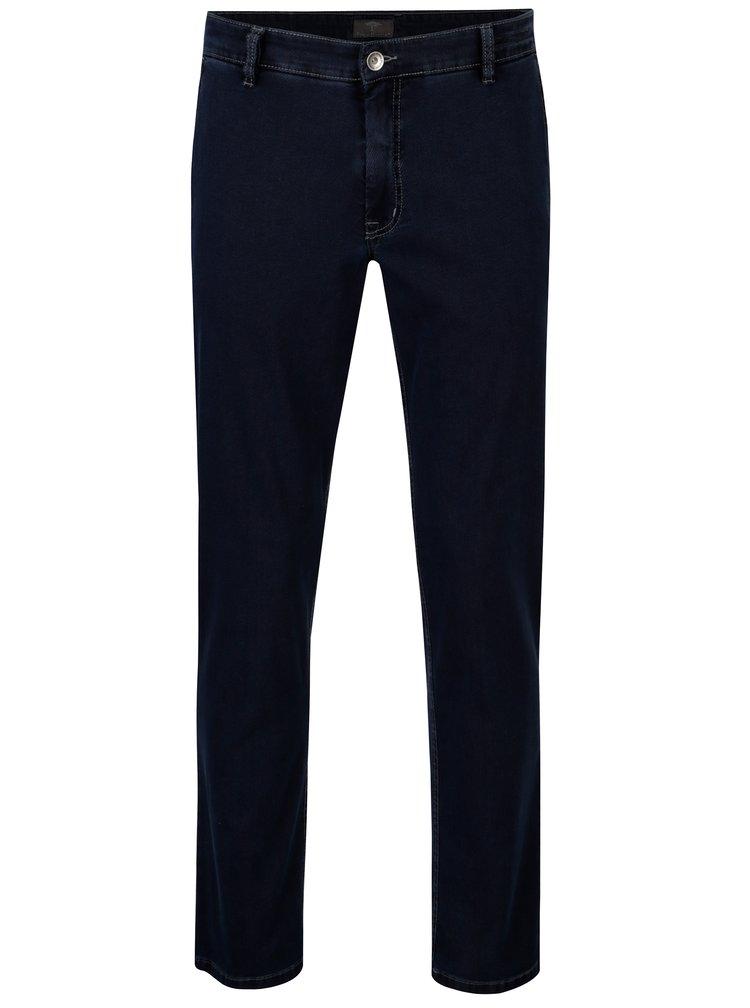 Tmavě modré modern fit džíny Fynch-Hatton Kenia