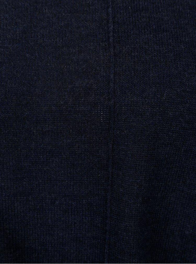 Tmavě modrý top s uzlem Jacqueline de Yong Carmen