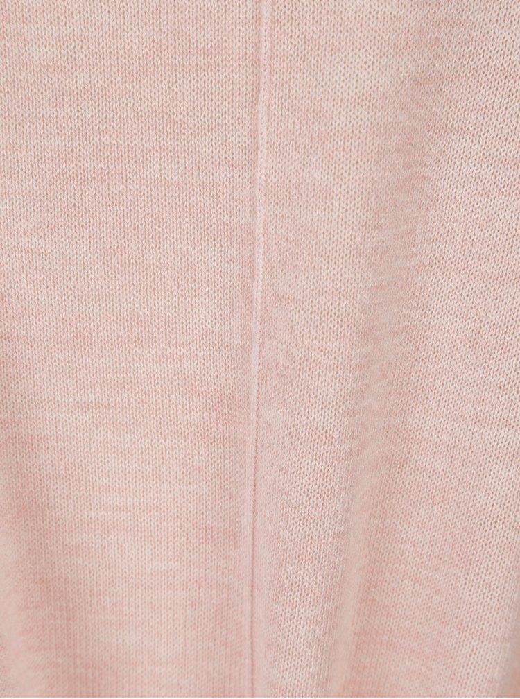 Světle růžový top s uzlem Jacqueline de Yong Carmen