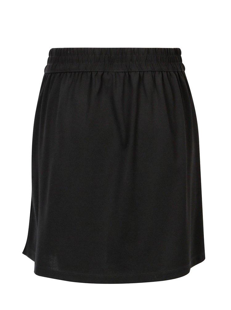 Černá áčková sukně Jacqueline de Yong Catia