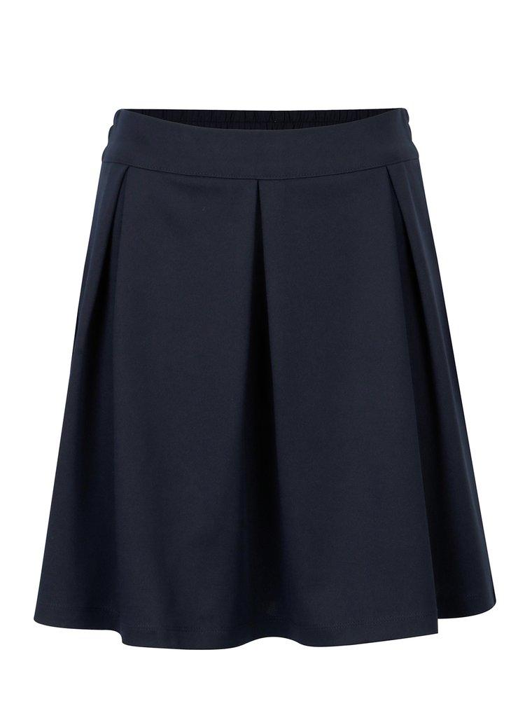 Tmavě modrá áčková sukně Jacqueline de Yong Catia