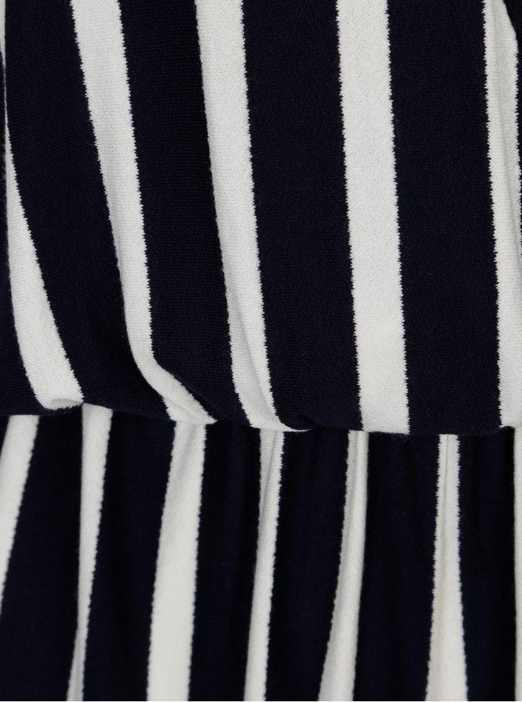Bílo-modrý pruhovaný overal Jacqueline de Yong Cass