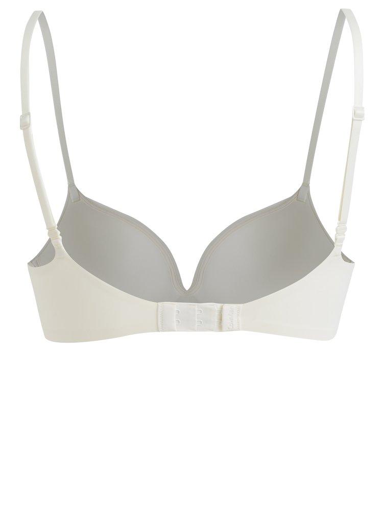 Krémová push up podprsenka Calvin Klein Underwear