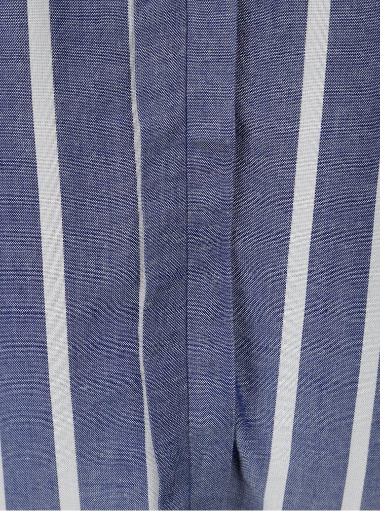 Tmavě modrý pruhovaný top Jacqueline de Yong Celest