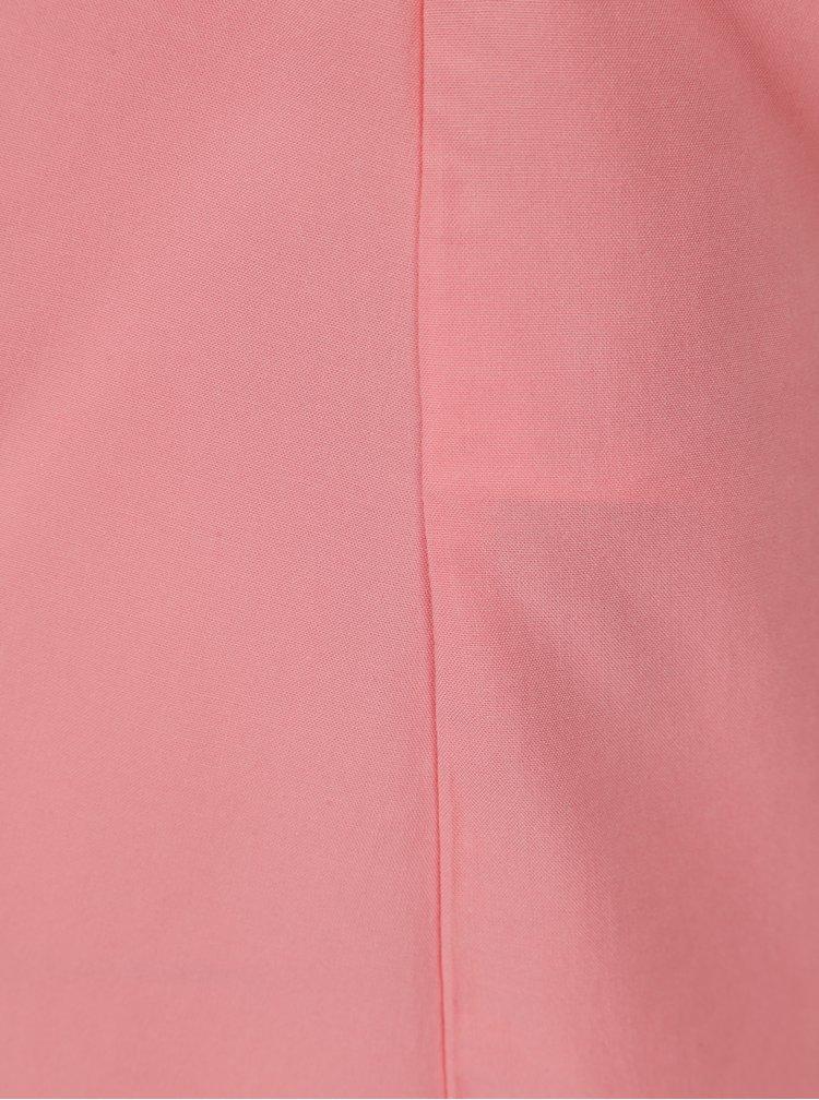 Top roz cu decupaj la spate ONLY Nova