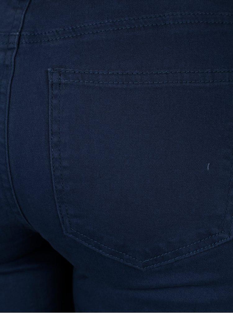 Modré kraťasy s nízkým pasem Jacqueline de Yong Five
