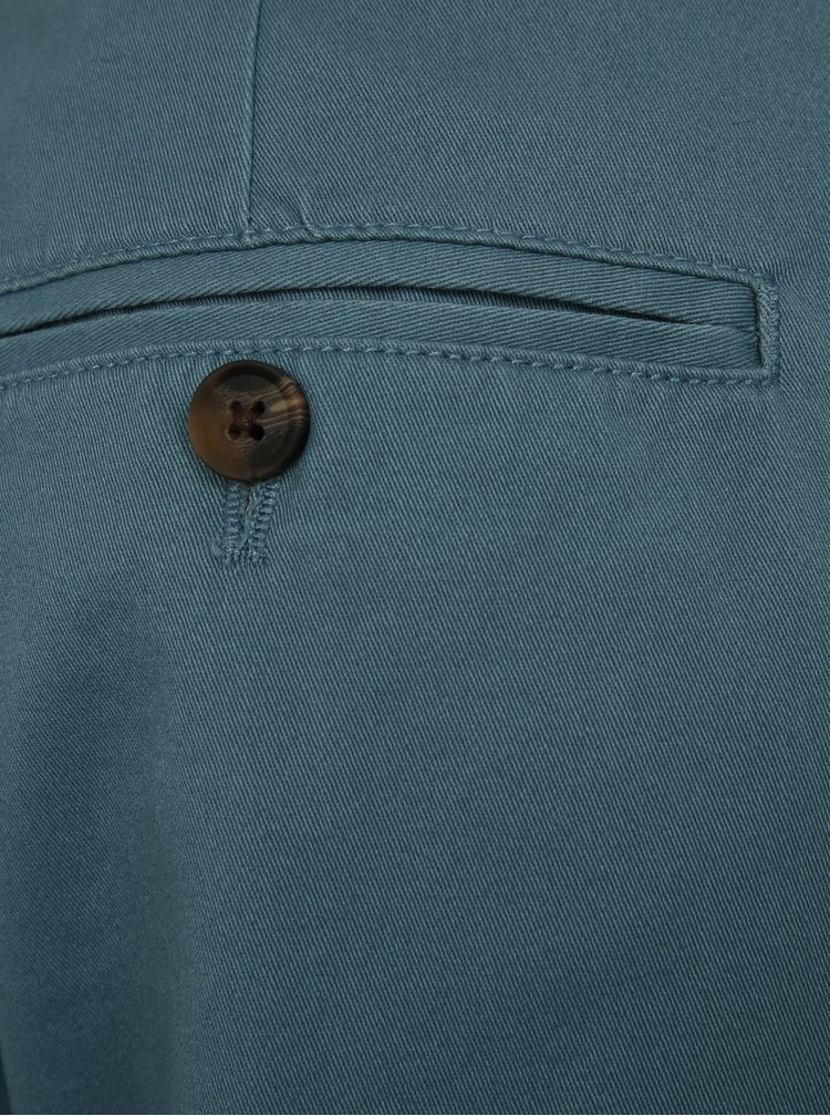 Světle modré chino kraťasy Burton Menswear London