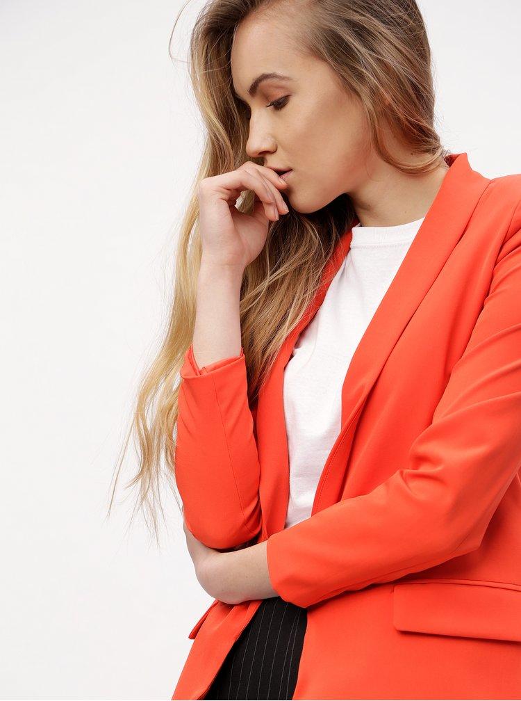 Červené sako MISSGUIDED