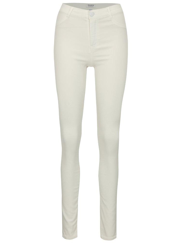 Bílé super skinny džíny Dorothy Perkins Frankie