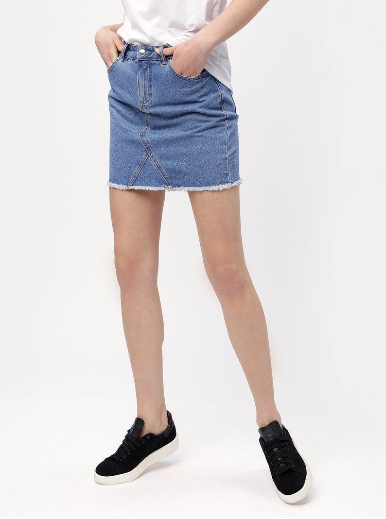 Modrá džínová sukně ONLY Wilda