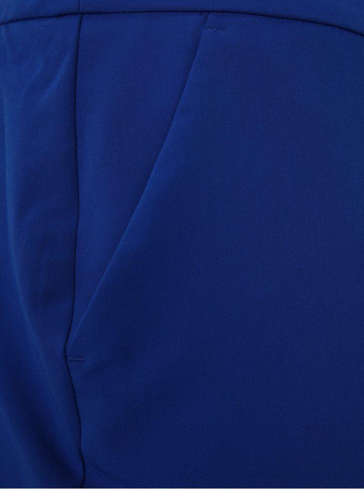 Modré zkrácené kalhoty Dorothy Perkins Curve