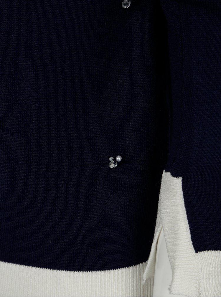 Tmavě modrý holčičí svetr 5.10.15.