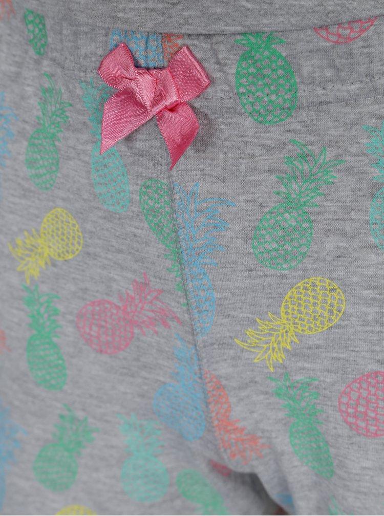 Šedé žíhané holčičí pyžamo 5.10.15.