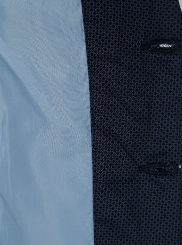 Tmavě modré vzorované klučičí sako 5.10.15.
