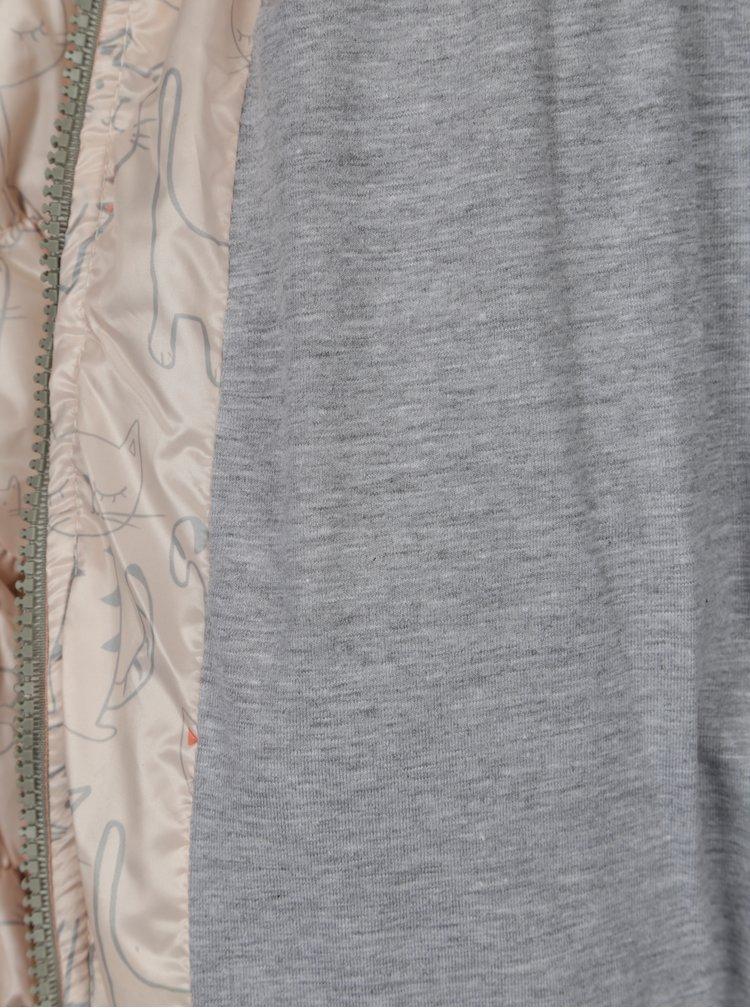 Meruňková voděodolná prošívaná vesta s kapucí 5.10.15.