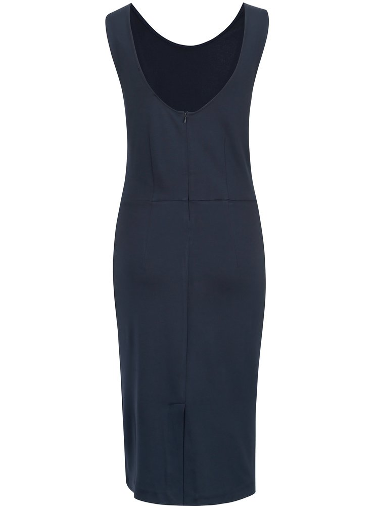 Tmavě modré šaty Selected Femme Uma