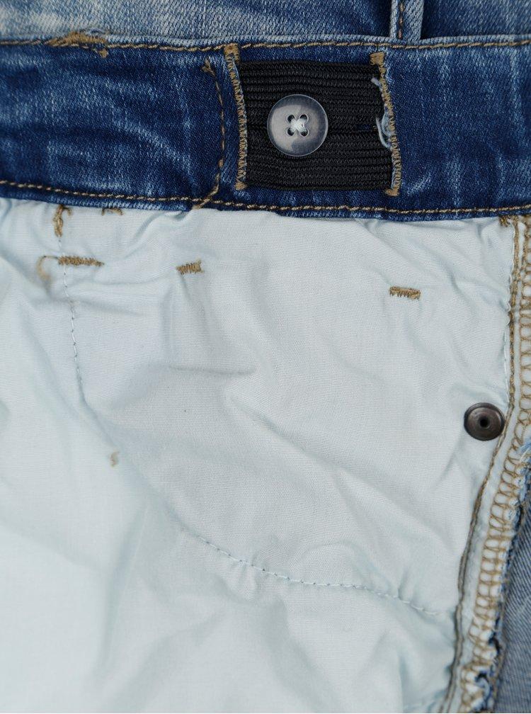 Modré holčičí džínové slim kraťasy s potrhaným efektem LIMITED by name it