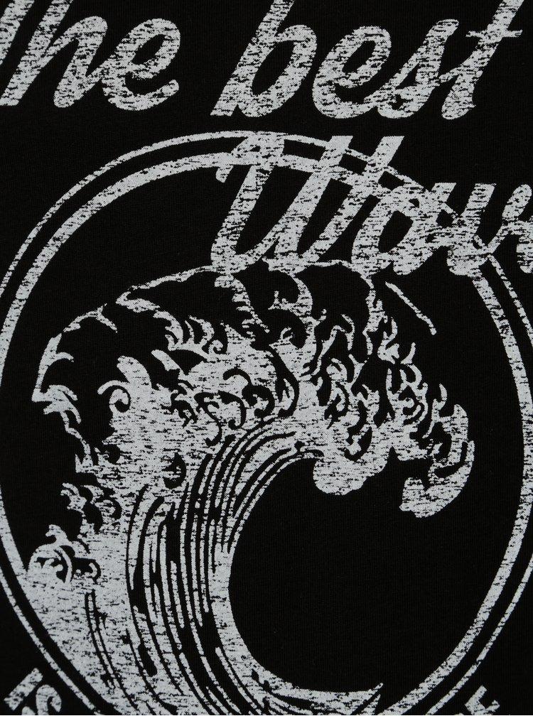 Bílo-černé klučičí tričko LIMITED by name it