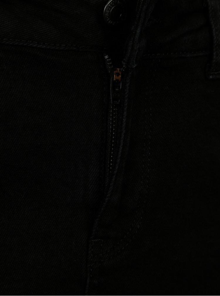 Černá džínová sukně Selected Femme Maya