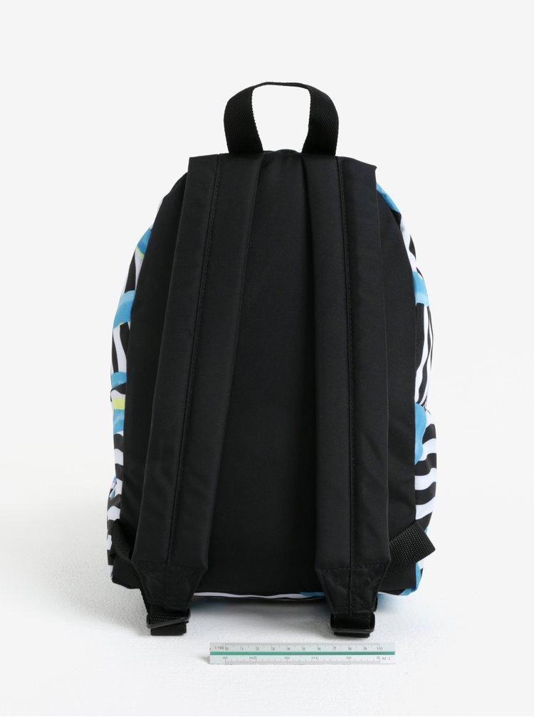 Modro-černý vzorovaný batoh Eastpak Orbit 10 l