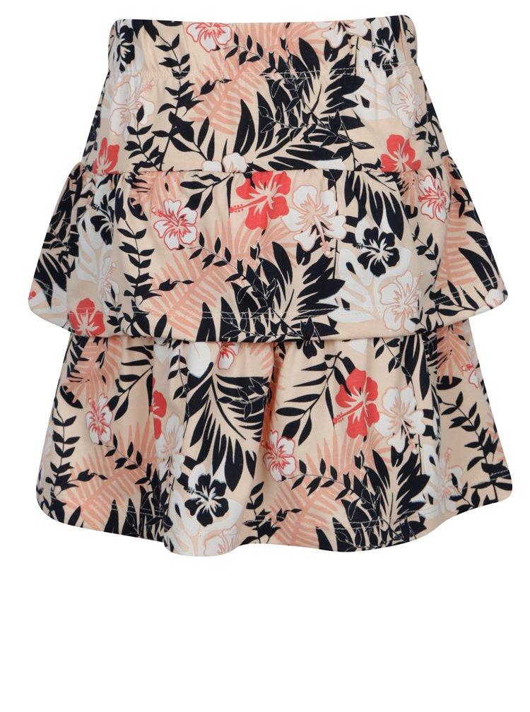 Světle růžová vzorovaná sukně name it Vigga