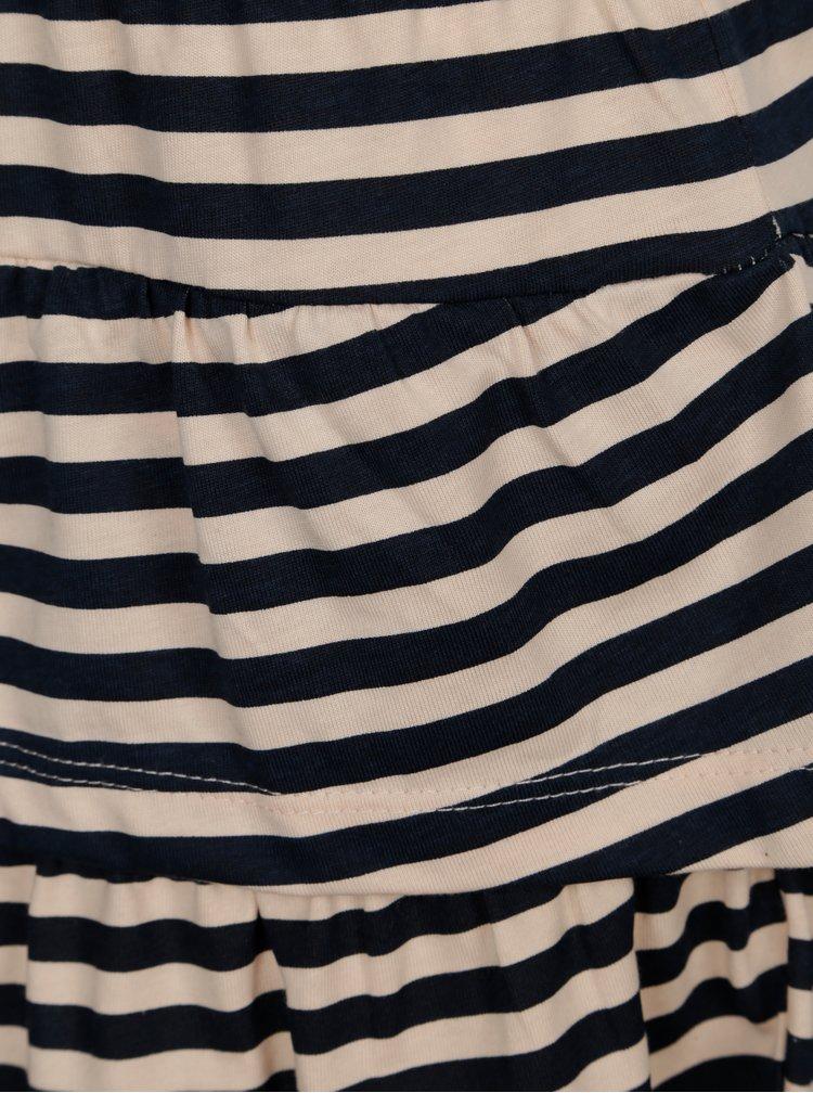 Modro-růžová pruhovaná sukně name it Vigga