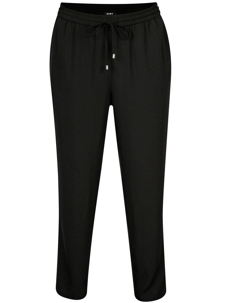 Černé kalhoty DKNY