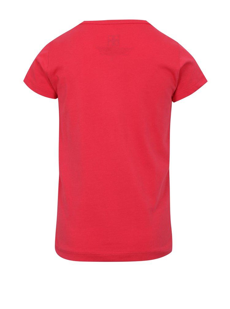 Růžové holčičí tričko s potiskem Lego Wear