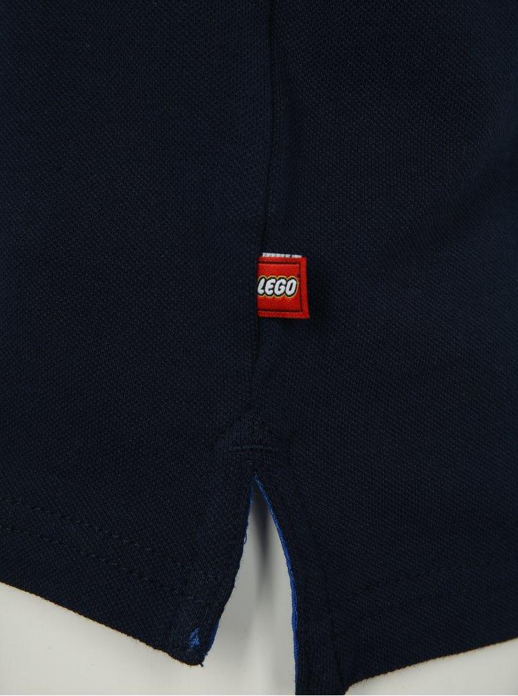 Tmavě modré klučičí polo tričko Lego Wear Thomas