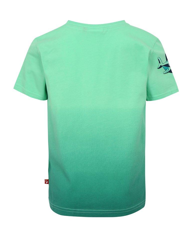 Zelené klučičí tričko s potiskem Lego Wear Thomas